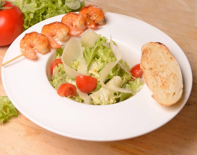 Соус для цезарь салата с креветками в домашних условиях 32
